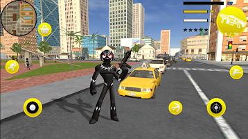 Panther Stickman Rope Hero Counter Mafia Battle