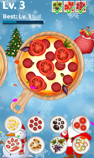 Christmas Pizza Cooking - Pizza Maker Kitchen Game