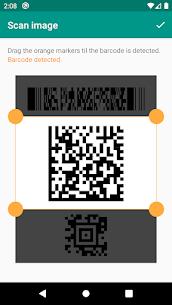 Lector de códigos QR y barras (español). 4