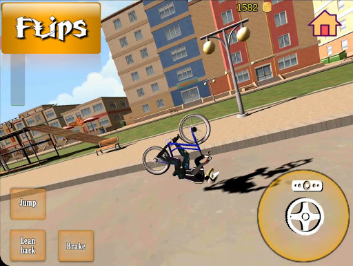 Wheelie Bike 3D - BMX stunts wheelie bike riding apkpoly screenshots 2