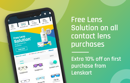 Lenskart: Eyeglasses, Sunglasses, Contact Lens App 3.0.7 screenshots 2