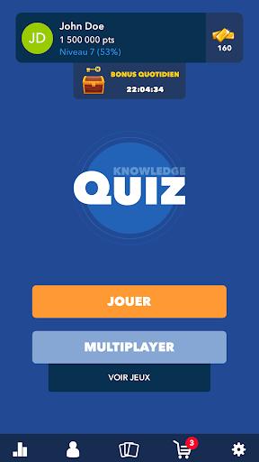 Super Quiz - Culture Gu00e9nu00e9rale Franu00e7ais android2mod screenshots 1