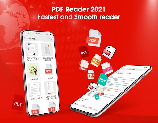 PDF Reader 2021 u2013 PDF Viewer, Scanner & Converter android2mod screenshots 1