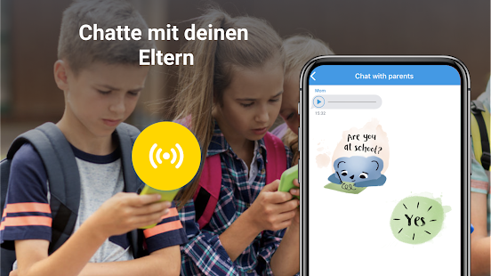 Pingo: chat with parents. Mit Eltern chatten Screenshot