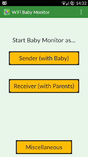 WiFi Baby Monitor Screenshot