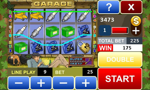 Garage slot machine 16 4