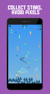 Pixel Rain: Dodge all the pixels Screenshot