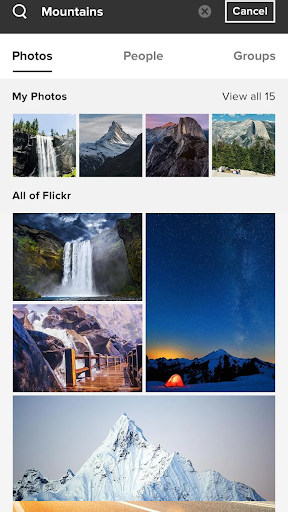 Flickr 4.15.6 Screenshots 2
