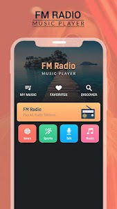 Radio FM & Music Player, Online FM Radio Station 1.5