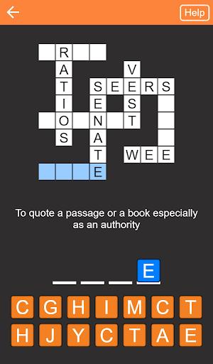 Quick Crosswords (English) 1.5.3 screenshots 7