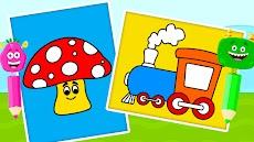 子供用 塗り絵ゲーム - お絵かき&塗り絵ブックのおすすめ画像3