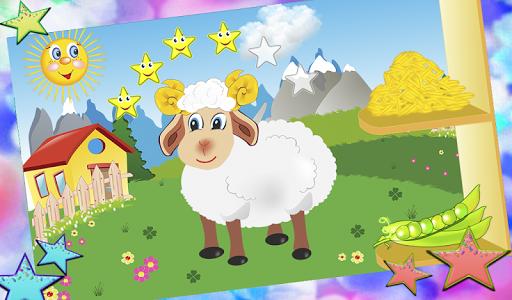 Well-fed farm (for kids)  screenshots 1
