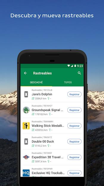 Captura de Pantalla 7 de Geocaching® para android