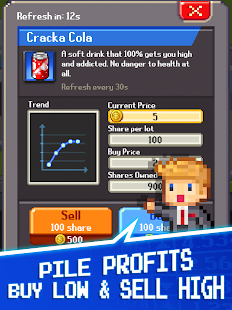Tap Tap Trillionaire - Cash Clicker Adventure Screenshot
