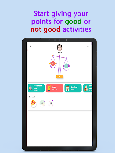 Points - Behavior tasks rewards  Screenshots 14