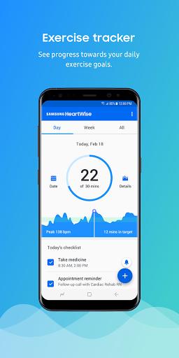 Samsung HeartWise screenshot 1