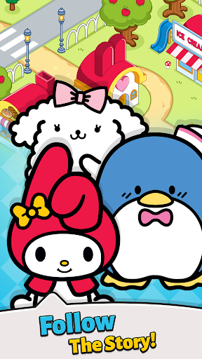 Hello Kitty - Merge Town  screenshots 2