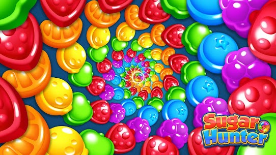 Sugar Hunter: Match 3 Puzzle Apk Mod + OBB/Data for Android. 1