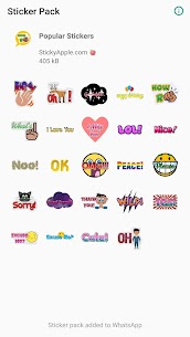 Popular Stickers (for WhatsApp) 1