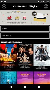 Cinemark Argentina Screenshot