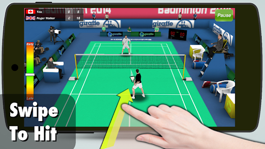 Badminton 3D [Mod, Premium Unlocked] 1