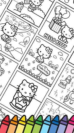 Hello Kitty Coloring Book  screenshots 15