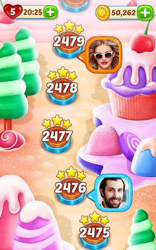 Ice Cream Paradise - Match 3 Puzzle Adventure Apkfinish screenshots 6