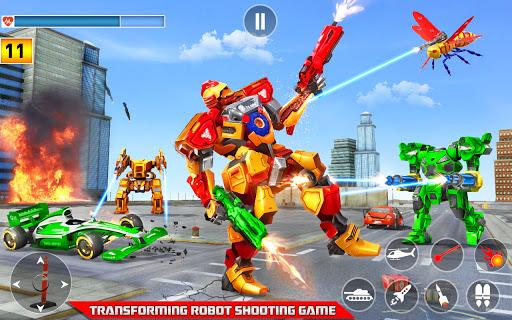 Multi Robot Transform game – Tank Robot Car Games  screenshots 1
