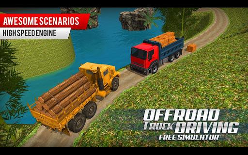 Offroad Truck Driving Simulator: Free Truck Games Apkfinish screenshots 5