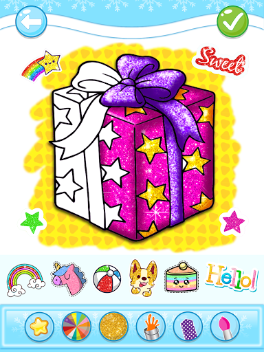 Christmas Coloring Game - Learn Colors  screenshots 13