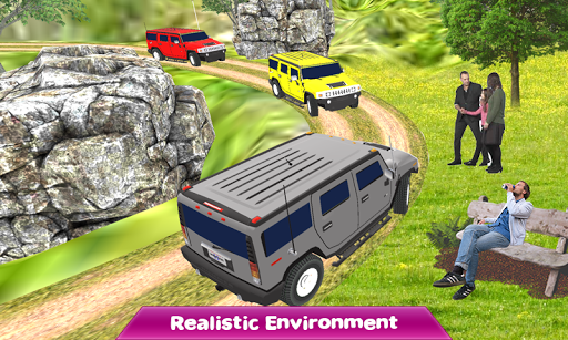 Crazy Taxi Jeep Drive: Jeep Driving Games 2021 android2mod screenshots 9