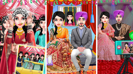 Punjabi Wedding - North Indian Wedding Big Game  screenshots 1