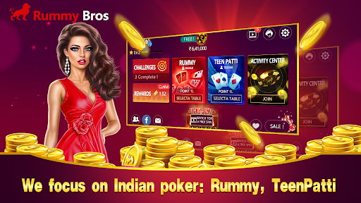 Rummy Bros focuses on Indian poker game clubs 2.8 screenshots 1
