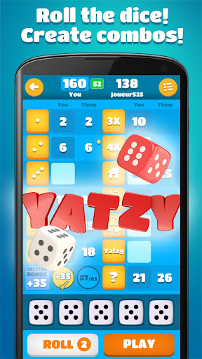 Yatzy 1.44 screenshots 2