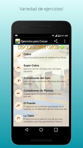 ejercicios para crecer screenshot 1