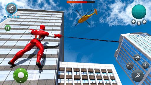 Miami Robot Spider Hero: City Gangster Games 2021 screenshots 2