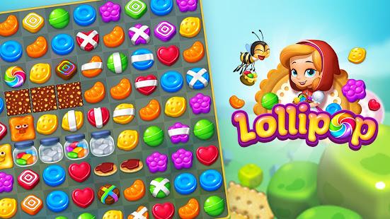 Lollipop: Sweet Taste Match 3 21.0715.00 screenshots 3