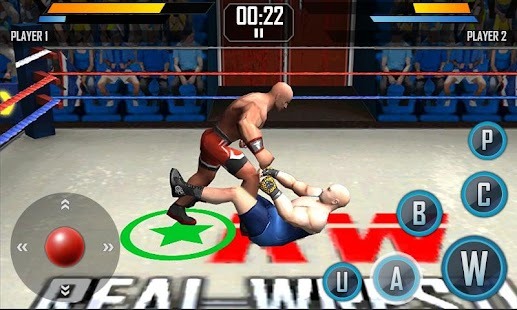 Real Wrestling 3D Screenshot