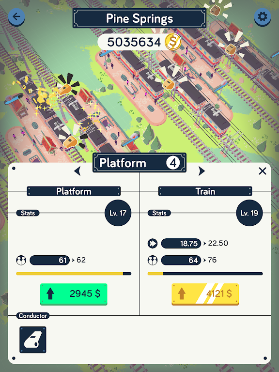 Train Station Idle Tycoon  poster 11