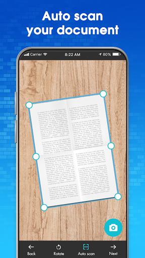 PDF Cam Scanner - Camera Scanner to PDF  screenshots 1