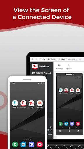 Zapya WebShare - File Sharing in Web Browser  Screenshots 5