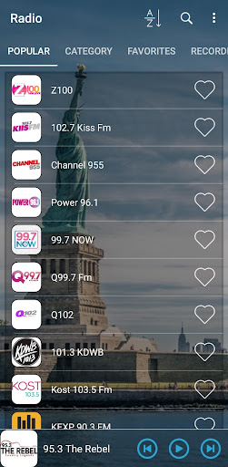 Radio Stations, Listen and Save screenshot 1