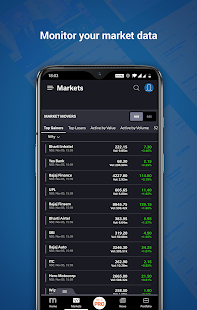 Moneycontrol - Share Market | News | Portfolio Screenshot