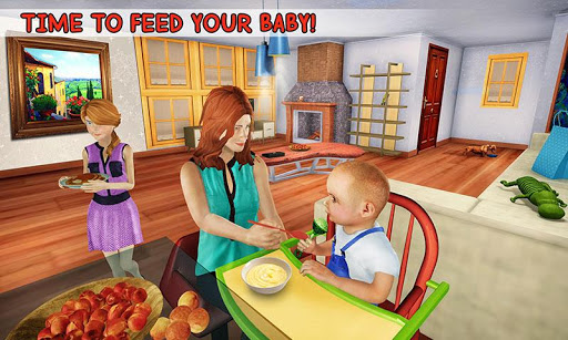 New Baby Single Mom Family Adventure apkdebit screenshots 1