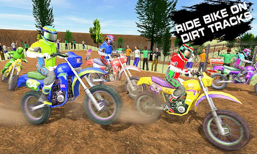Dirt Track Racing 2019: Moto Racer Championship 1.5 Screenshots 4