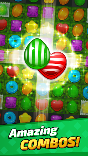 Sugar Land - Sweet Match 3 Puzzle apkpoly screenshots 3