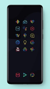 Caelus Icon Pack – Colorful Linear Icons (MOD, Paid) v3.3 3