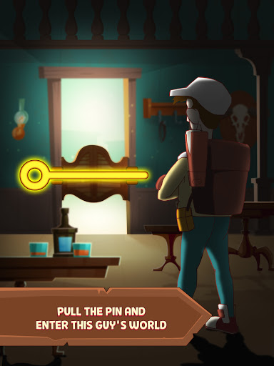 Pull Him Up: Brain Hack Out Puzzle game android2mod screenshots 4