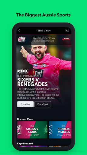 Kayo Sports - for Android TV  Paidproapk.com 3