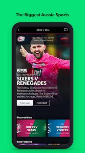 Kayo Sports - for Android TV screenshots 3